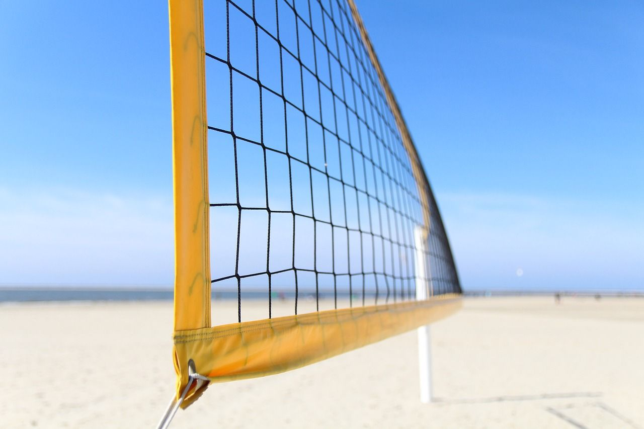 Free Image On Pixabay Volleyball Beach Beach Volleyball With Images Volleyball Rules