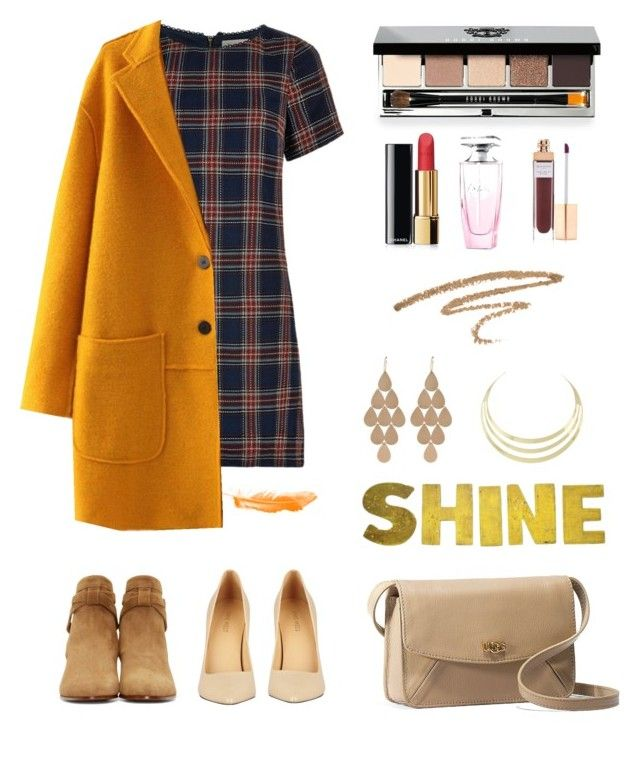 """""""#3"""" by magic143 ❤ liked on Polyvore featuring Louche, Bobbi Brown Cosmetics, Chanel, Balmain, Accessorize, Irene Neuwirth, Yves Saint Laurent, Nine West, UGG Australia and Heels"""