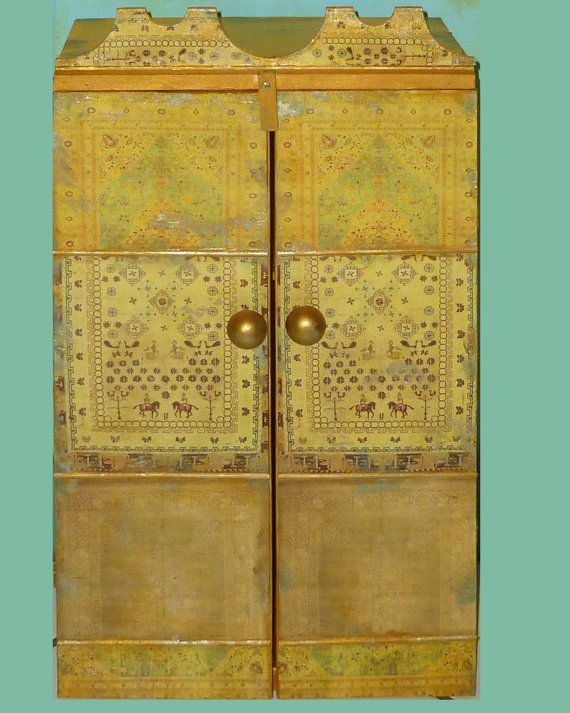 Moroccan inspired Wall Cabinet for jewelry and much more | Moroccan ...