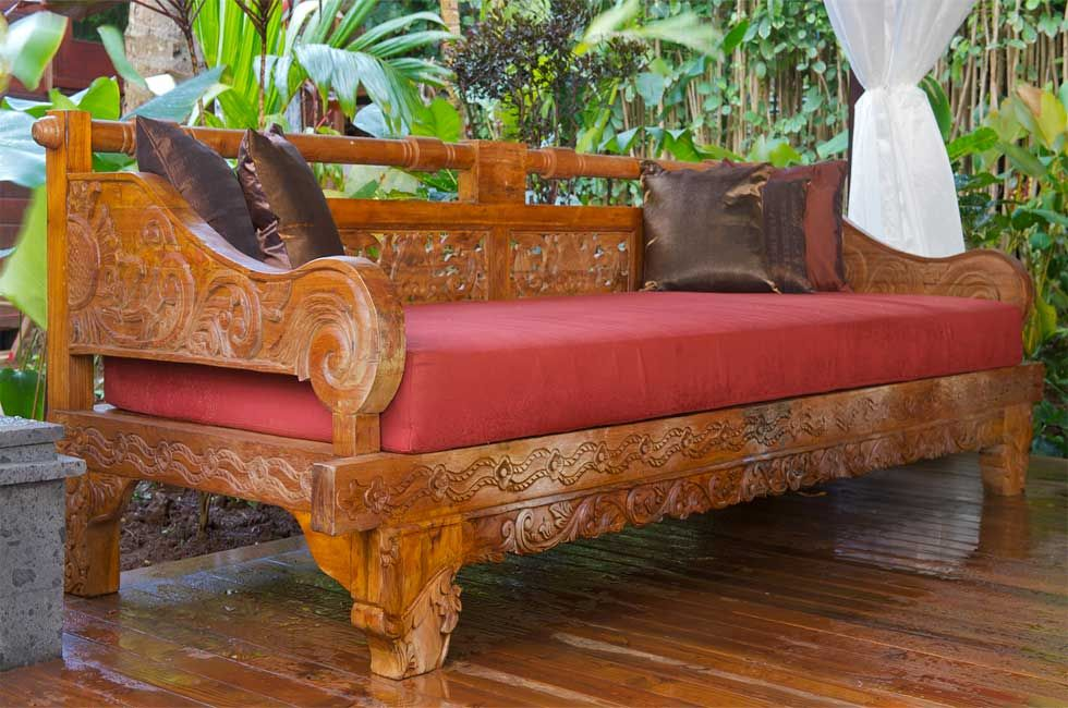 --Bali-Style-Daybed~ ~ Outdoor Furniture - Bali-Style-Daybed~ ~ Outdoor Furniture Outdoor Living Outdoor