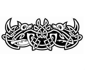 Heja Useful Celtic Dog Tattoo Designs Dog Tattoo Celtic Art Dragon Tattoo Clipart