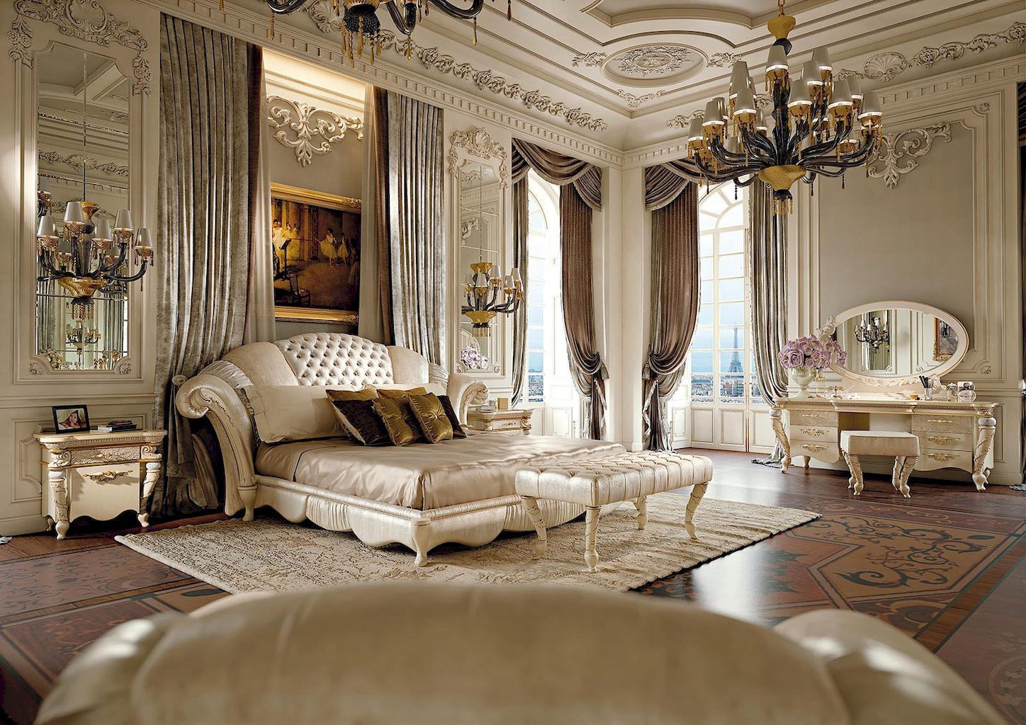 Classy & Elegant Traditional Bedroom Designs That Will Fit