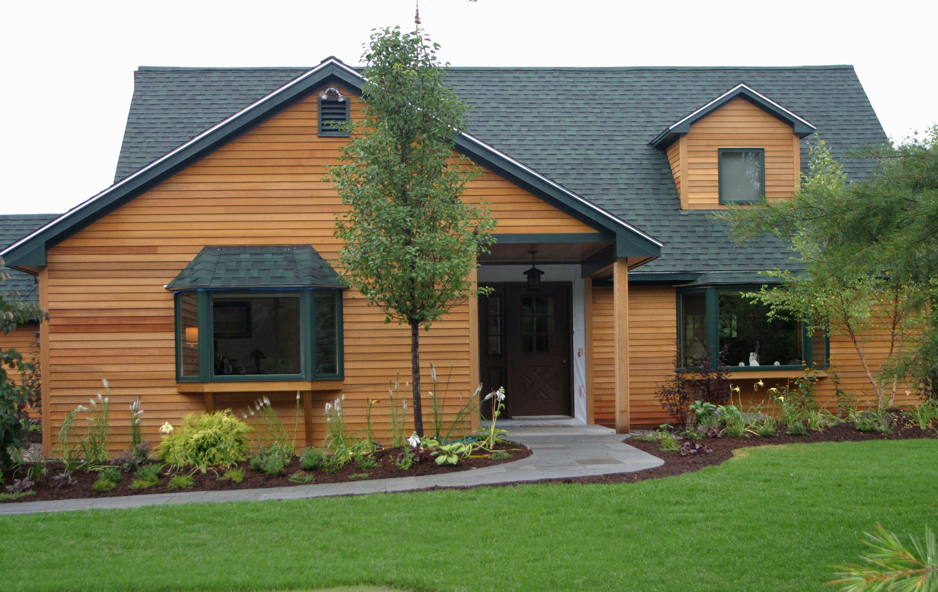 Wood Siding Protected With Seal Once Nano Wood Sealer Wood Siding Concrete Wood