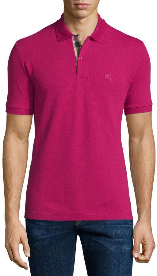 c154c05a6c2 Burberry Brit Short-Sleeve Pique Polo Shirt