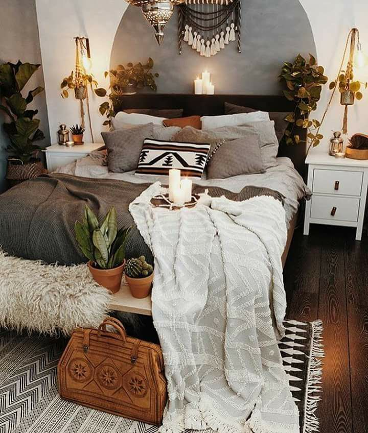 Pin By Sani Ledorb On Boho Home Bedroom Stylish Bedroom