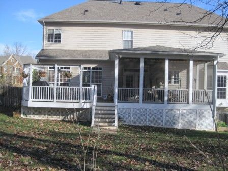 Custom Deck Builders Screened Porches Screened In Porch Hip Roof Design Roof Design