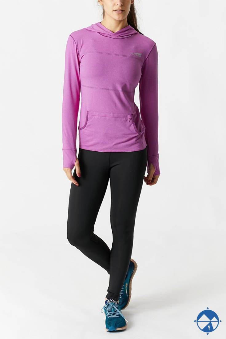 Light up the night in the Altra Women's Light Hoody.  As lightweight as it functional, all-over invi...
