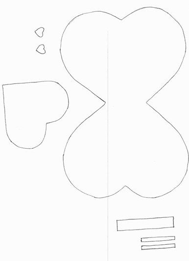 Lollipop Butterfly Template Coloring and templates Pinterest - butterfly template