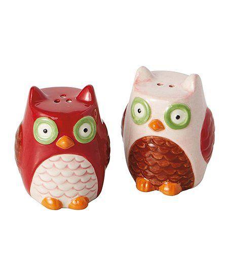 Design Imports Owls Salt Pepper Shakers Zulily Ocd Owl