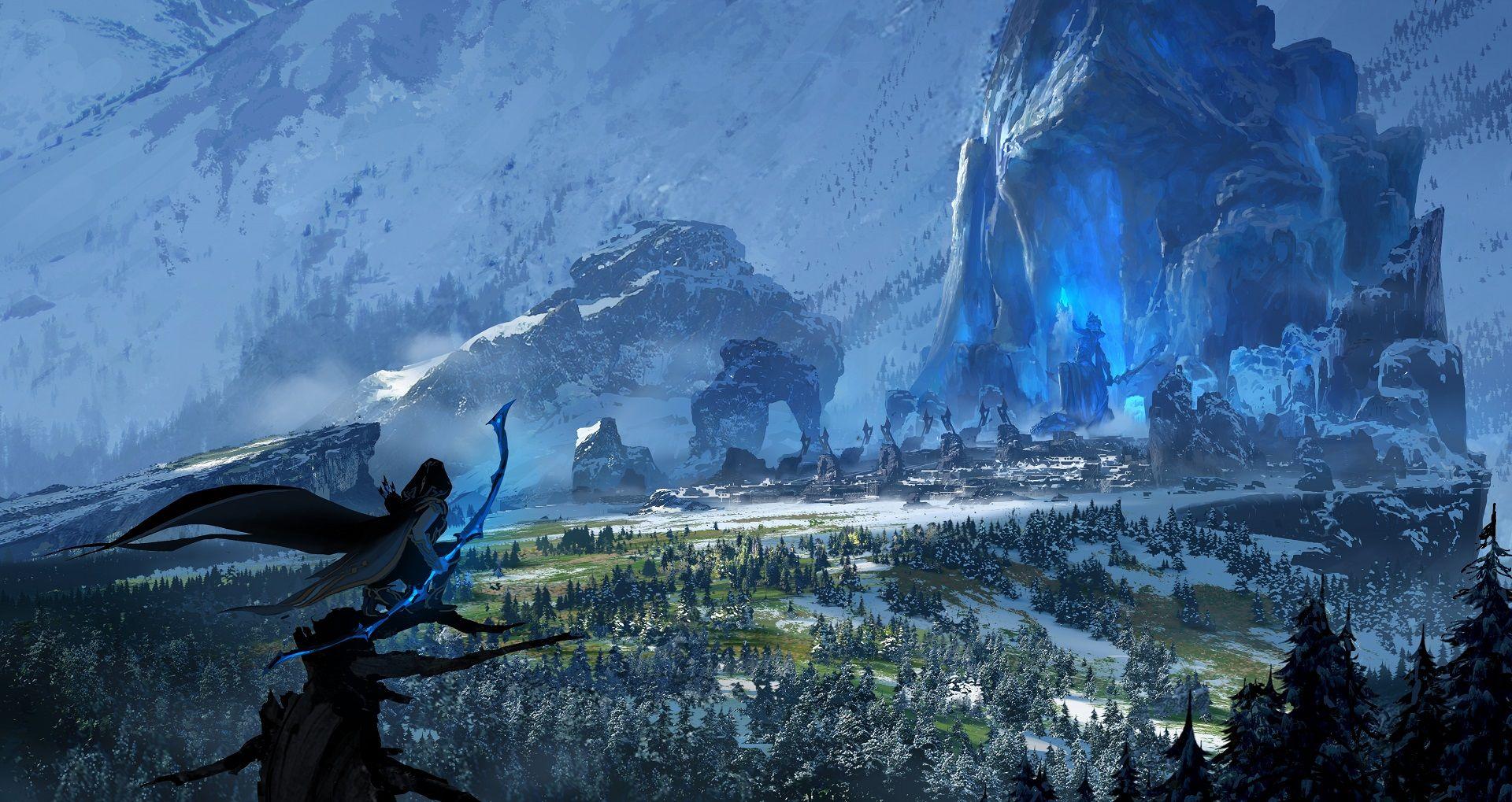 Map of Runeterra - Universe - League of Legends | League of Legends ...