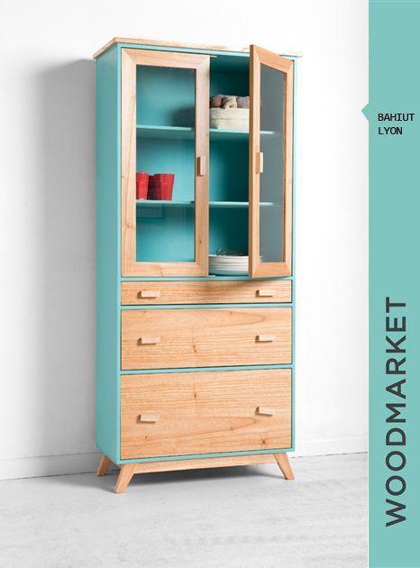 Wood Market Mueble cocina Pinterest Madera, Carpintería y