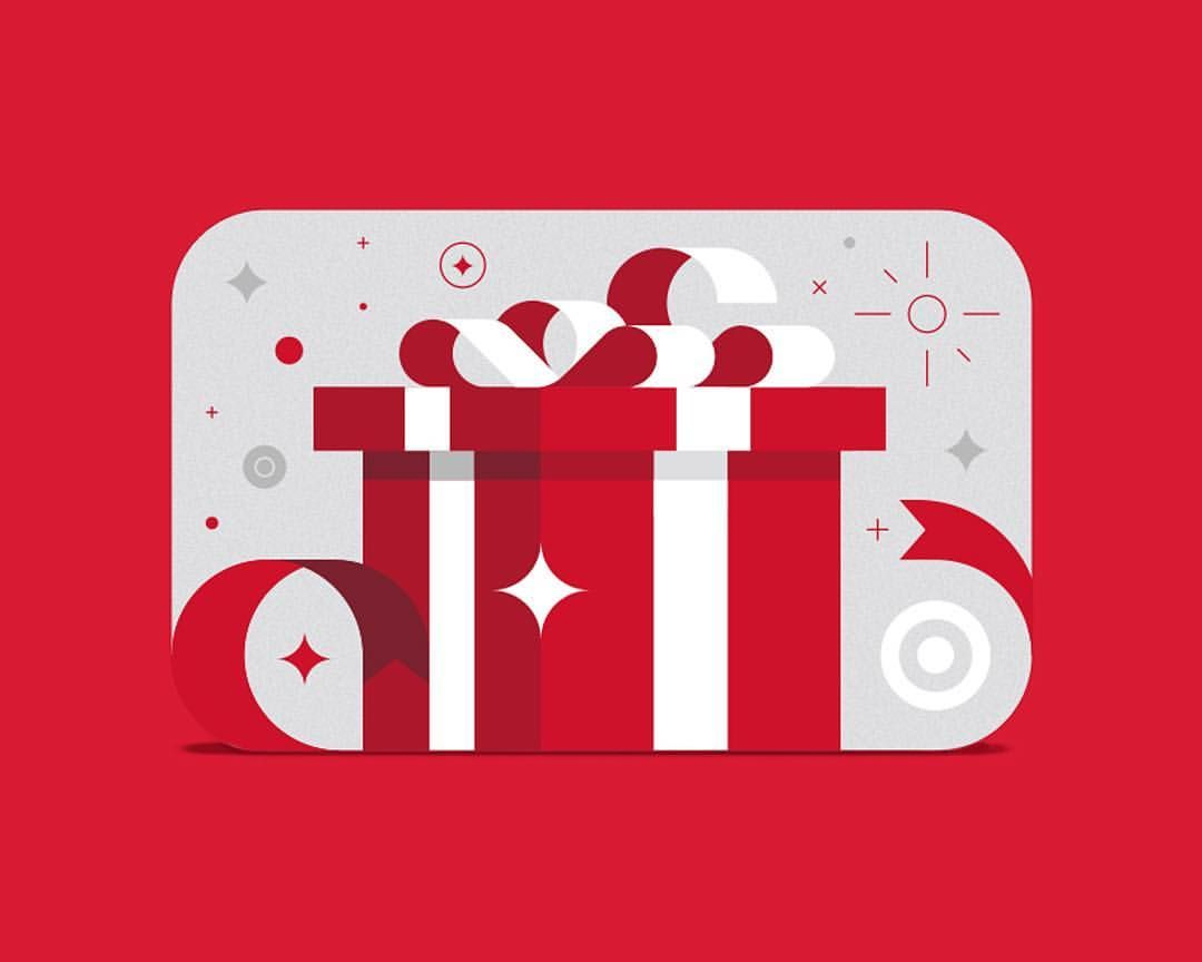Last fall we were asked by target to design a gift card