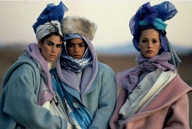 Yup... still #winter outside. ❄️ But let's talk about this color palette.  Peter Lindbergh 1985.