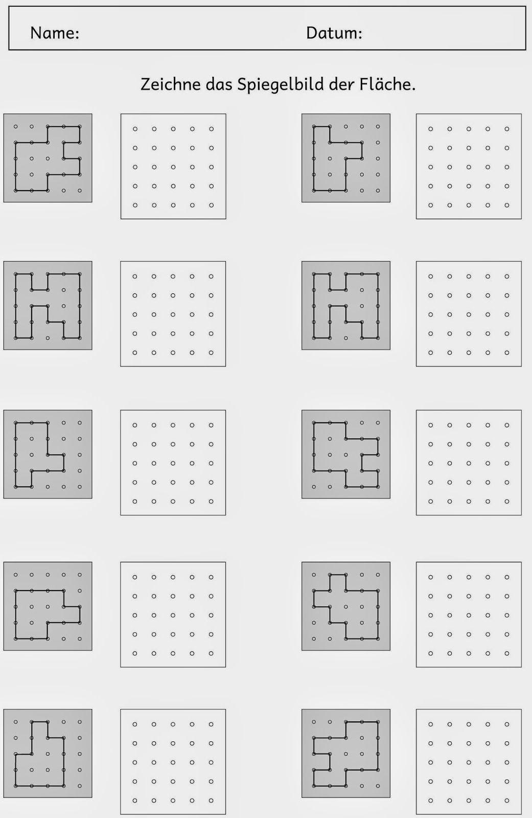Stationarbeit zum Flächeninhalt (1) | Pinterest | Math, Kindergarten ...