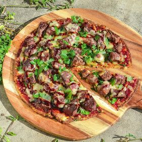 Brooke's Kitchen of Culinary Dreams: Healthy Low Carb Pizza Crust