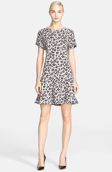 af5c03cb305 kate spade new york  cyber cheetah  drop waist dress available at  Nordstrom