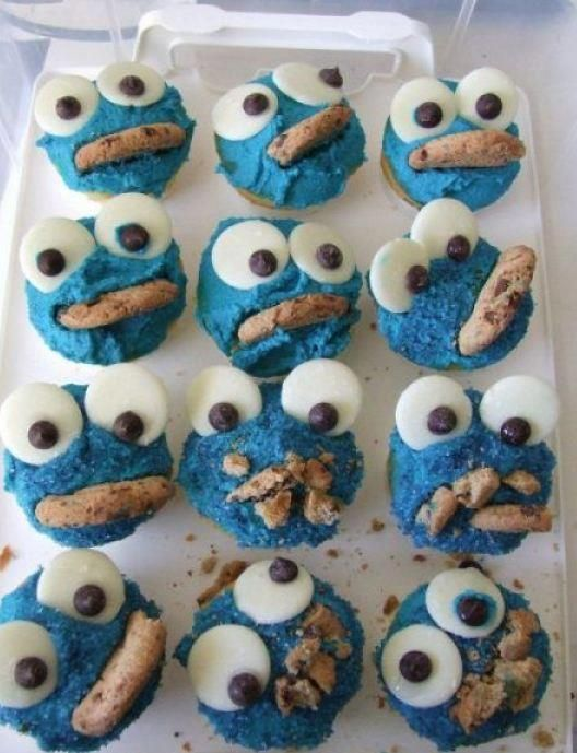 awesome cookie monster cookies are awesome!