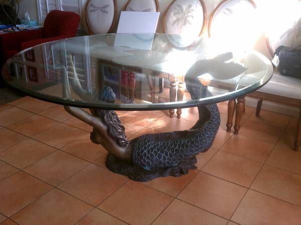 Mermaid Base Coffee Table