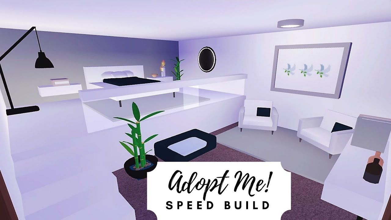 Estate Home Speed Build Part 1 Roblox Adopt Me Youtube Simple Bedroom Design My Home Design Room Ideas Bedroom