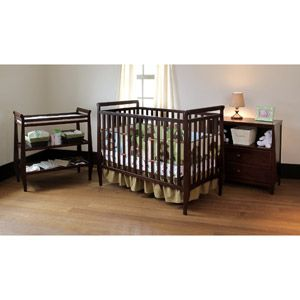 Summer Infant Carrington Crib Changing Table and Dressser 3 PC