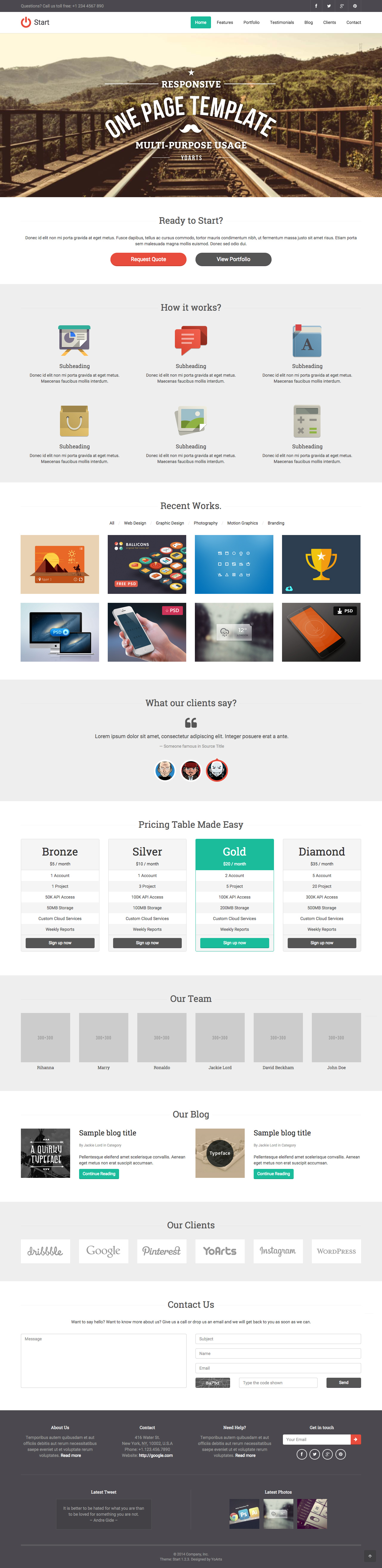One Page Website Templates おしゃれまとめの人気アイデア Pinterest One Page Love
