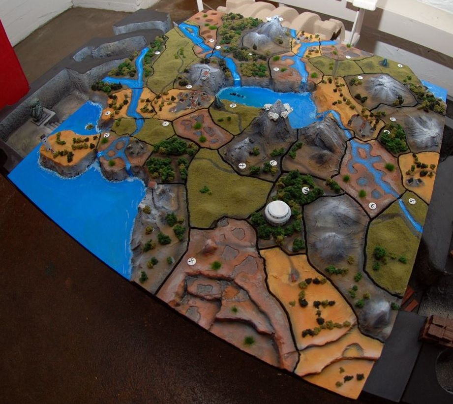 Awesome looking 3D version of one of Smallworld's 4