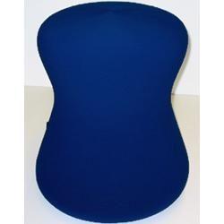 Photo of Polsterhocker Sitzkegel Lff Fan Go 1 Stoff blau