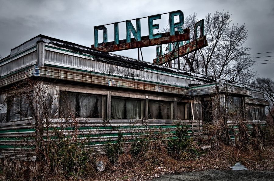 Abandoned Diner Reminds Me Of Abondoned Luncheonette By Hall