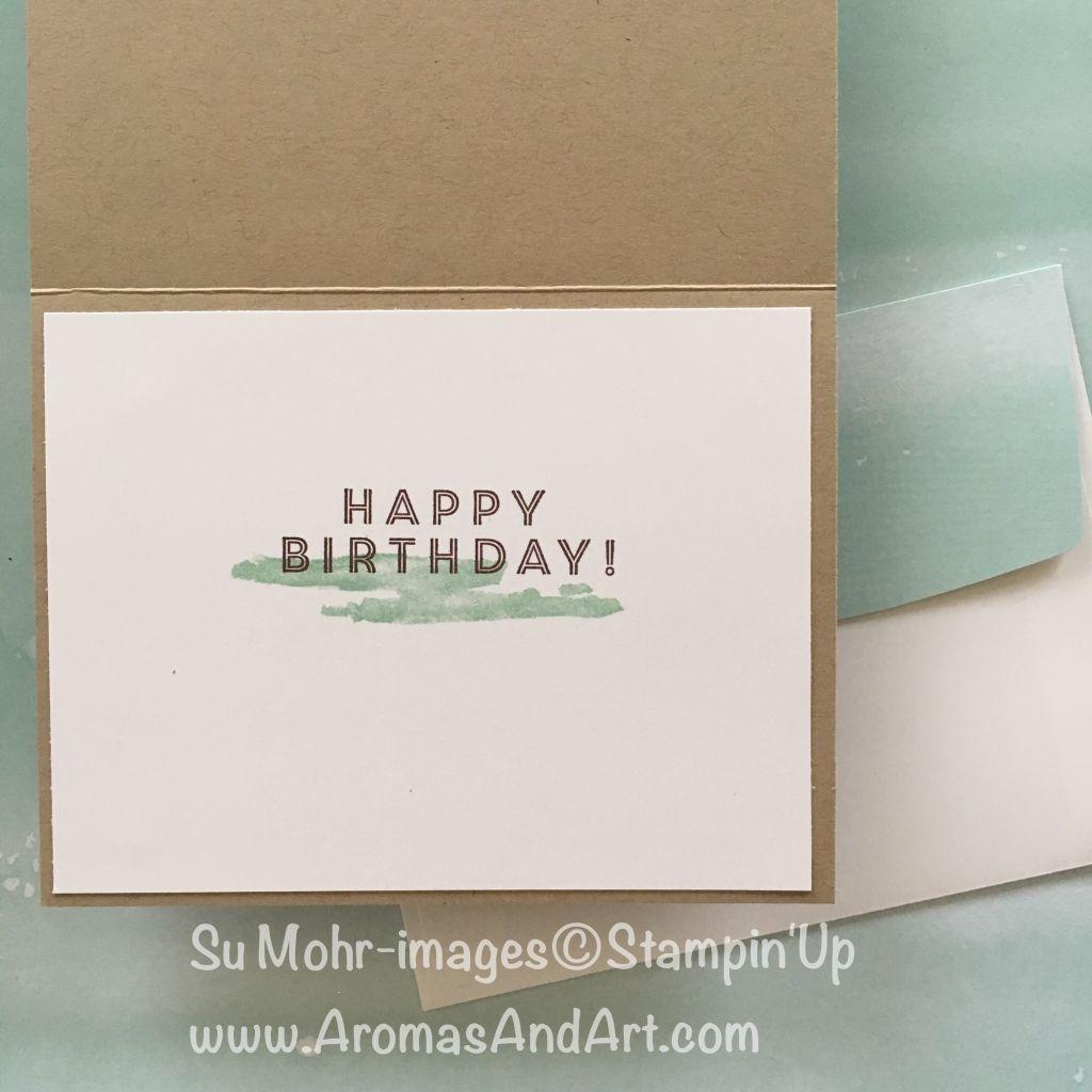 Waterfront Stamp Set Masculine Birthday Card Masculine Birthday