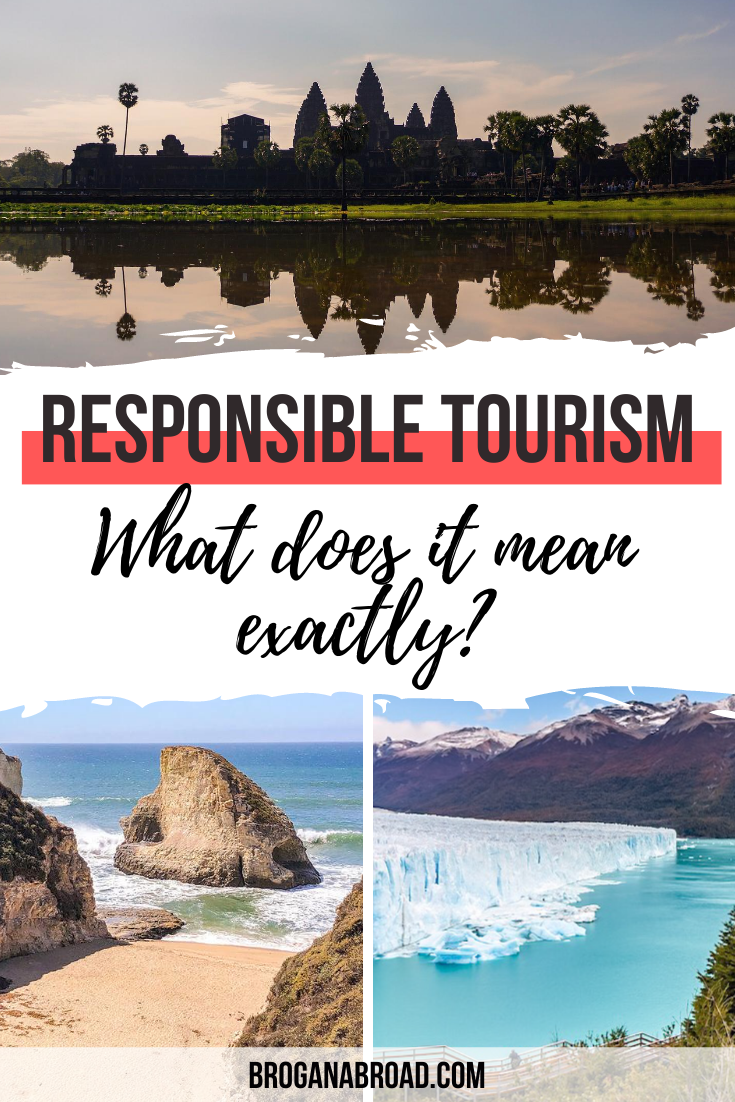 What is responsible tourism? This article explains what responsible tourism means and why it's important, including successful responsible tourism examples #responsibletravel #responsibletourism #sustainabletravel #travel #ethicaltravel