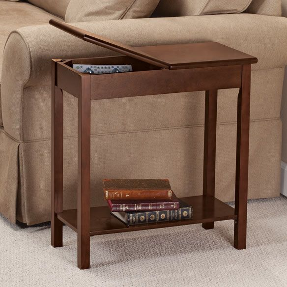 Chairside Table Takes Up Little E But Plenty Top