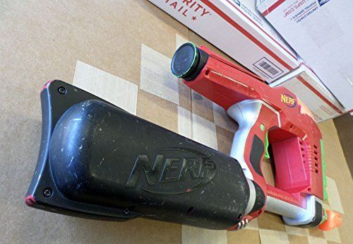 NERF Magstrike Dart Tag Gun Rapid Fire Ammo Clip RED Works Great!