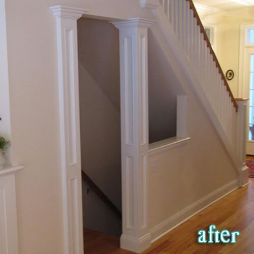 Open Basement Ideas: Opening Up The Wall And Removing The Door To The Basement