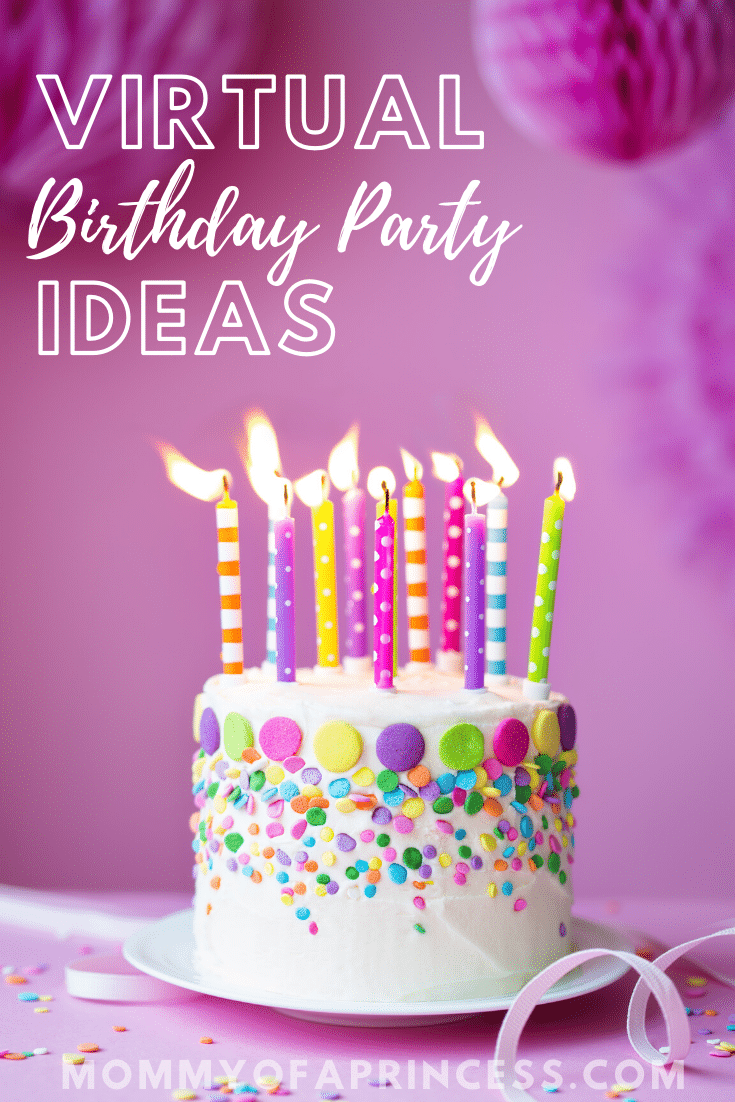 7 Fun Zoom Birthday Party Ideas How To Have A Virtual Birthday Party In 2020 Fun Birthday Party Birthday Cake With Candles Birthday Parties