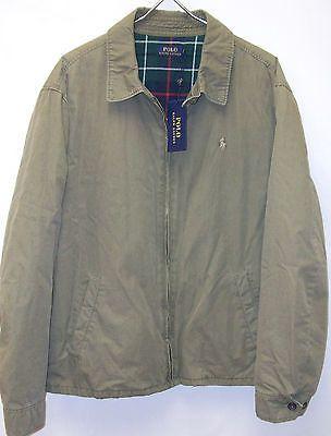 4893ab872 Polo Ralph Lauren LANDON Cotton Windbreaker Jacket Coat $165-185 ...