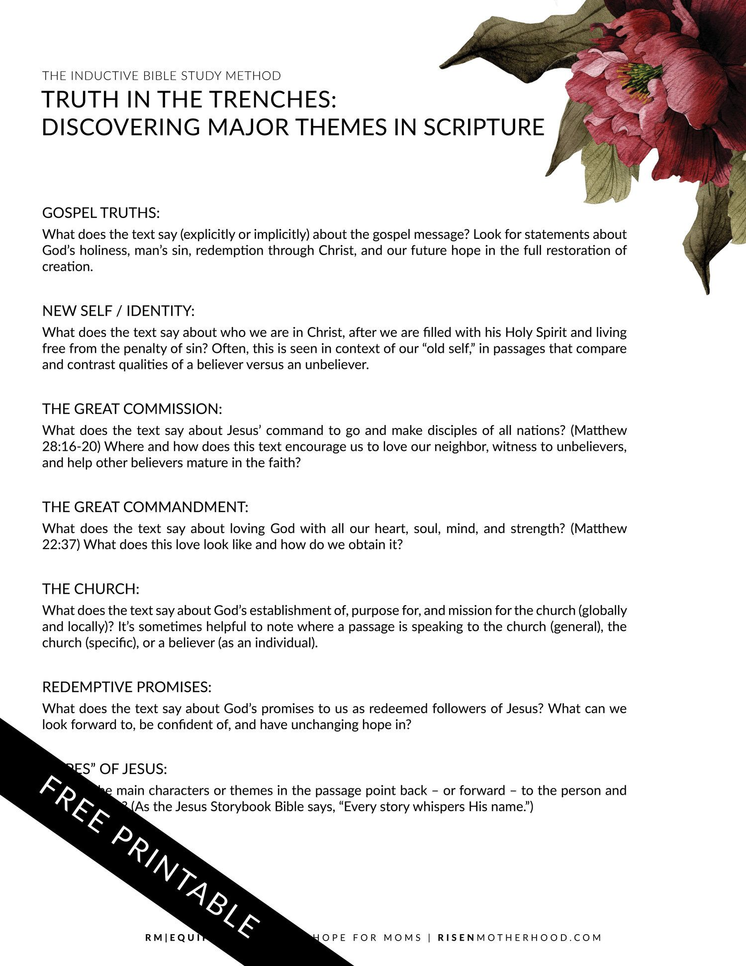 Gospel Themes With Markup2 With Images
