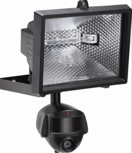 Flood Light Security Camera Beauteous Security Camera Light Outdoor Flood Lights And Video  Square Light Decorating Inspiration