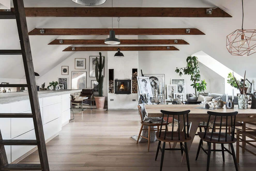 Innenarchitektur Regeln inside this sophisticated attic home fres home dachwohnung