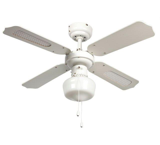 Ventilador de techo con luz inspire barbade ref 13831454 - Ventilador de techo cocina ...