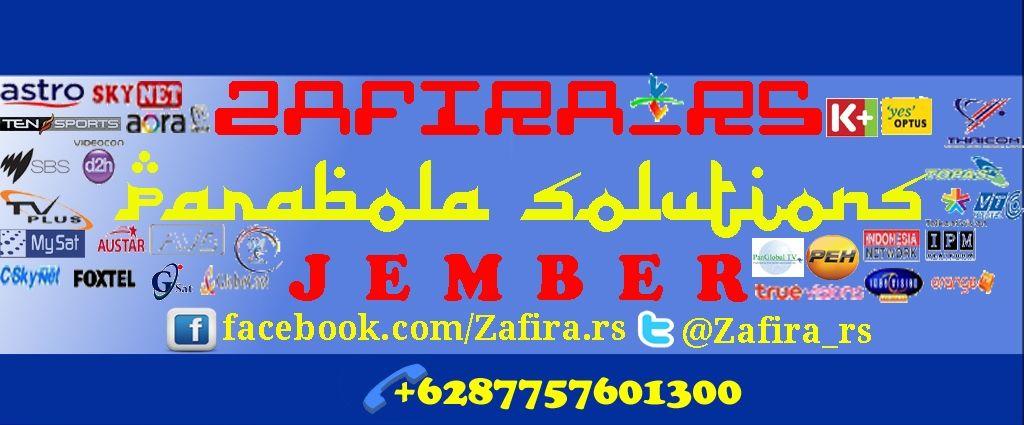 Zafira Rs Yours Parabola Solutions In Jember Kami Melayani Pasang