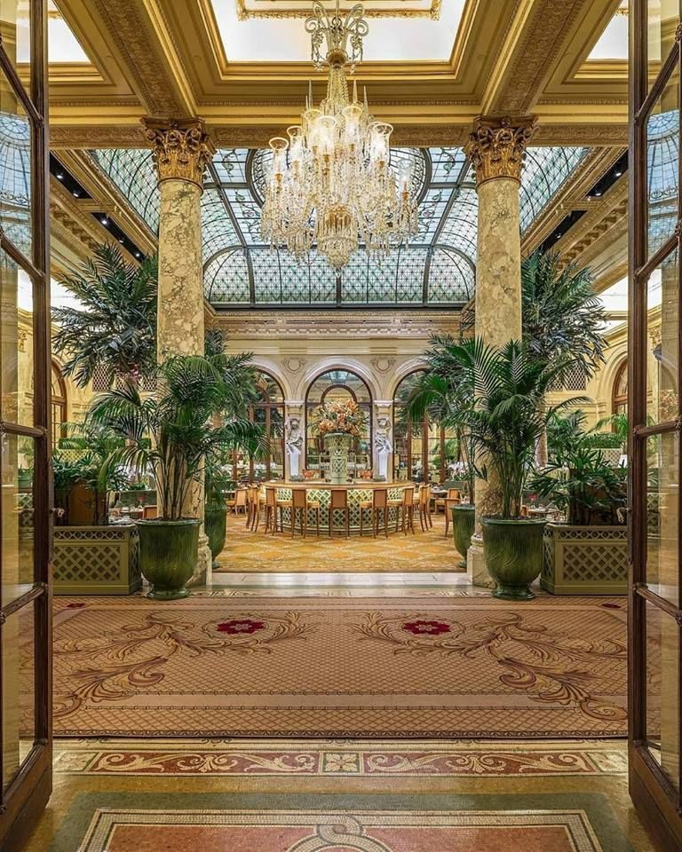 Inside The Plaza Hotel, New York