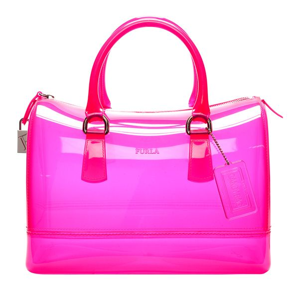 Furla Candy In Neon Pink