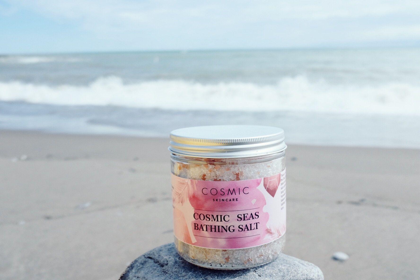 Cosmic bath saltsnatural skincarevegan beautyepsom