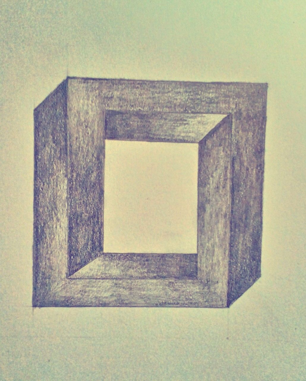 opticall #illusion #picture #square #drawing #art #sketchbook ...