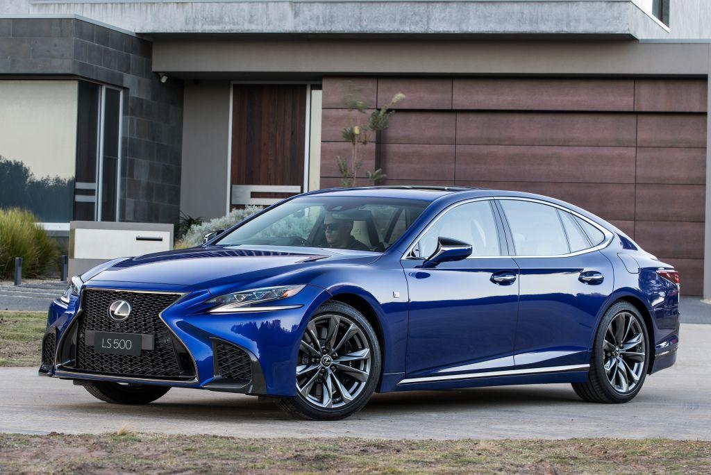 Lexus LS500 F SPORT 2018 (With images) Lexus ls, Lexus