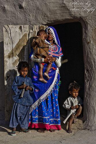 Family in Pakistan