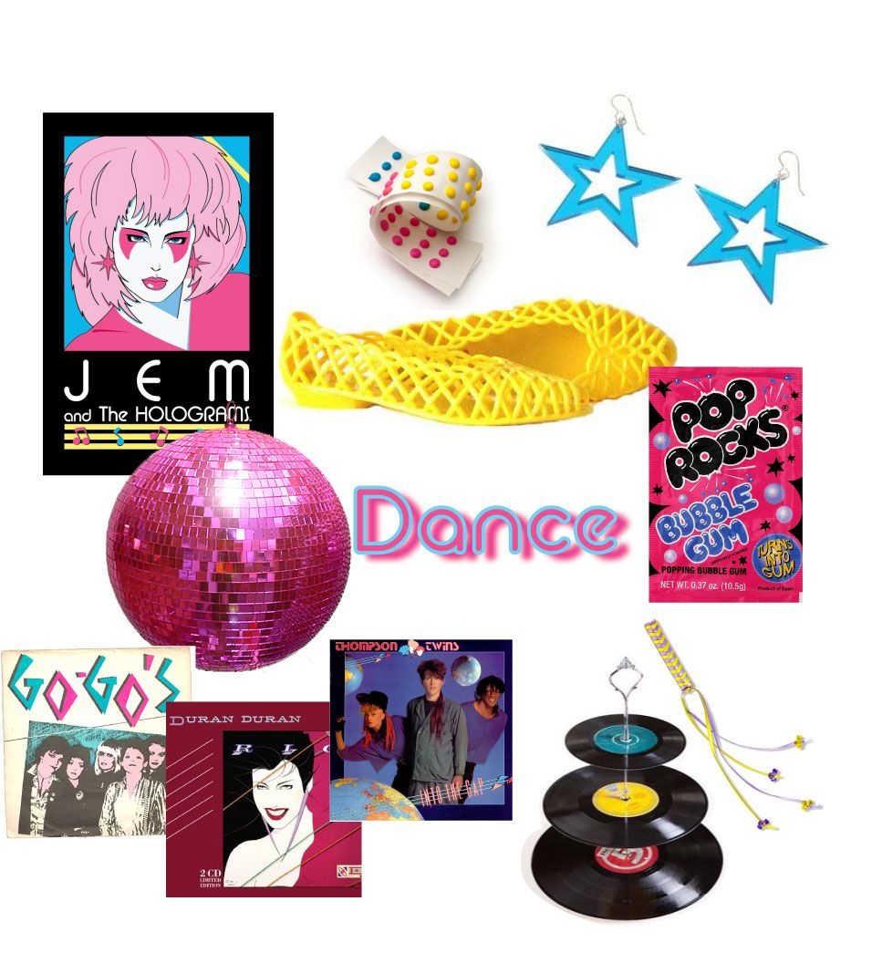Jem & the Holograms birthday party!!!