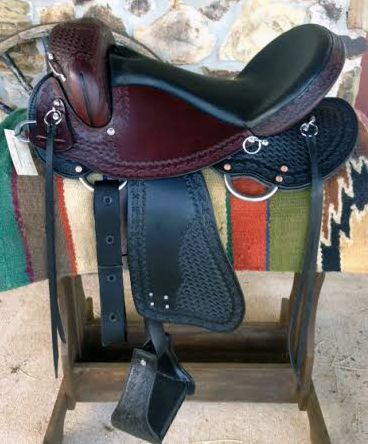 Dixieland Gaited Saddles, 2 tone saddles, gaited trail