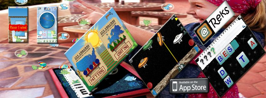 @Reks designs educational and entertaining iPhone, iPad, iPod Touch and iPad Mini Apps: https://itunes.apple.com/us/artist/reks/id397925370