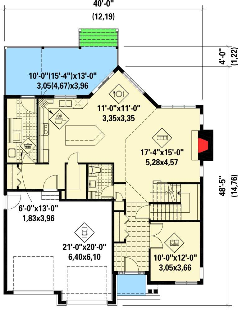 Plan 80844pm Northwest House Plan With Balcony Overlook House Plans Architectural Design House Plans Small House Plans
